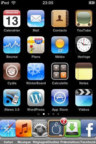 iphone application se ferme toute seule